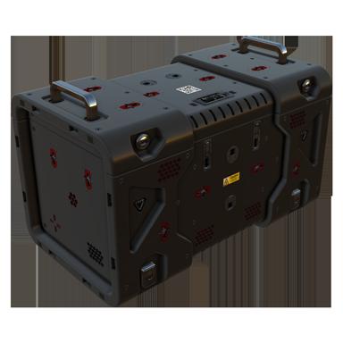 Treasure box crate